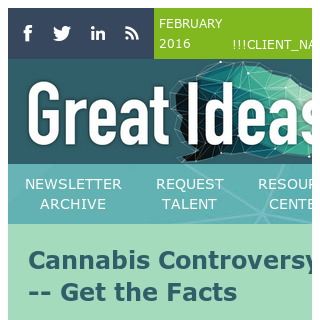 Cannabis Controversy -- Get the Facts